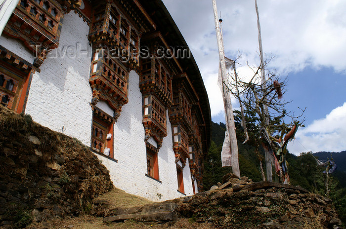 bhutan212: Bhutan - Tango Goemba - re-built in the 15th century by 'Divine Madman', Lama Drukpa Kunley - photo by A.Ferrari - (c) Travel-Images.com - Stock Photography agency - Image Bank
