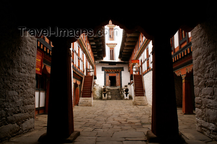 bhutan22: Bhutan - Jakar - inside the Jakar Dzong - photo by A.Ferrari - (c) Travel-Images.com - Stock Photography agency - Image Bank