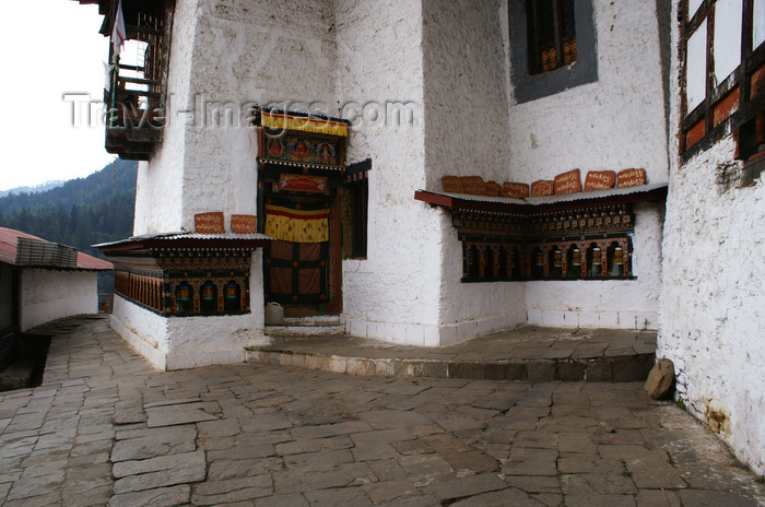 bhutan238: Bhutan - inside Chari Goemba - photo by A.Ferrari - (c) Travel-Images.com - Stock Photography agency - Image Bank