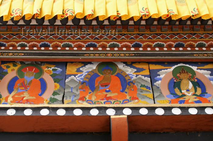 bhutan242: Bhutan - Buddhist figures in Chari Goemba - photo by A.Ferrari - (c) Travel-Images.com - Stock Photography agency - Image Bank