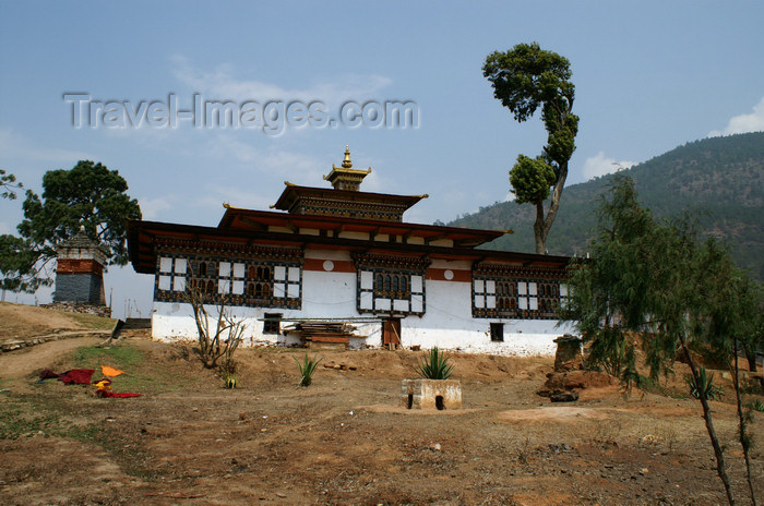 bhutan258: Bhutan - Chimi Lhakhang Monastery - photo by A.Ferrari - (c) Travel-Images.com - Stock Photography agency - Image Bank