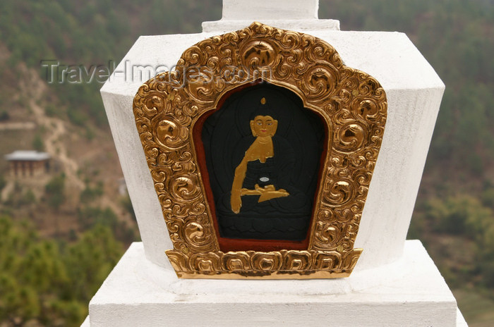 bhutan288: Bhutan - Buddhist figure, in Khansum Yuelley Namgyal Chorten - photo by A.Ferrari - (c) Travel-Images.com - Stock Photography agency - Image Bank