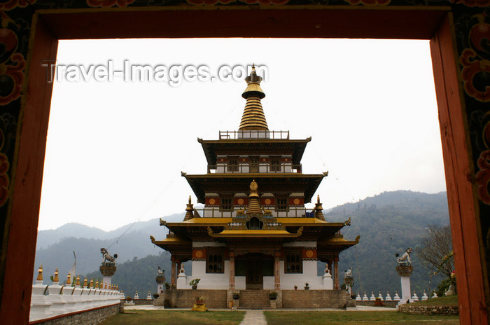 bhutan291: Bhutan - Khansum Yuelley Namgyal Chorten - photo by A.Ferrari - (c) Travel-Images.com - Stock Photography agency - Image Bank