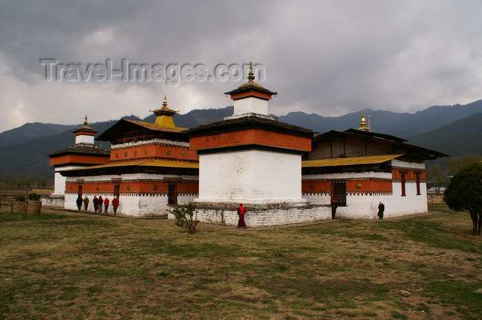 bhutan324: Bhutan - Jampa Lhakhang, Bumthang valley - built in the year 659 by the Tibetan King Songsten Gampo - photo by A.Ferrari - (c) Travel-Images.com - Stock Photography agency - Image Bank