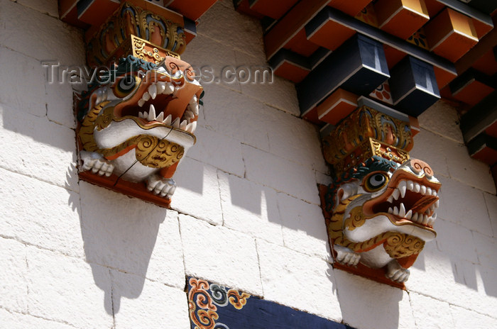 bhutan336: Bhutan - Zangto Pelri Lhakhang - wood carvings - photo by A.Ferrari - (c) Travel-Images.com - Stock Photography agency - Image Bank