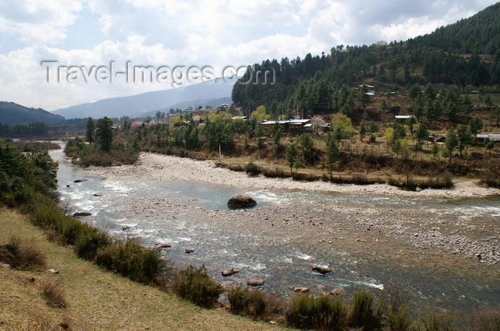 bhutan344: Bhutan - Bumthang valley - Bhumthang Chhu river - photo by A.Ferrari - (c) Travel-Images.com - Stock Photography agency - Image Bank