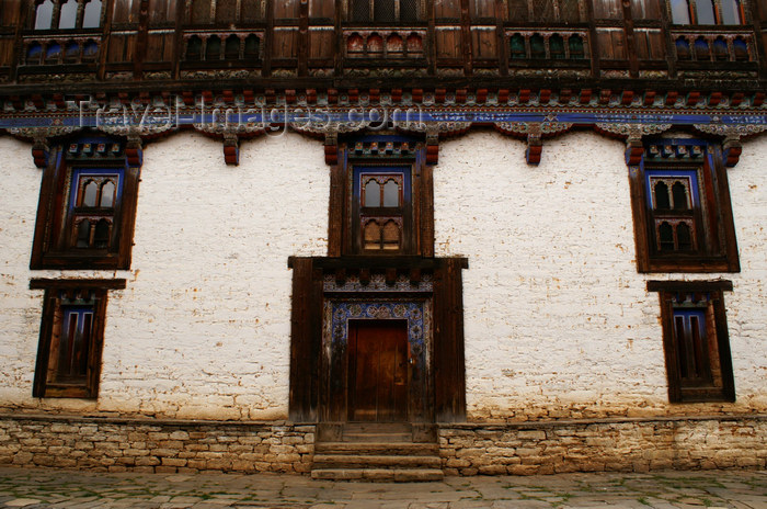 bhutan350: Bhutan - entrance of the museum - Ugyen Chholing palace - photo by A.Ferrari - (c) Travel-Images.com - Stock Photography agency - Image Bank