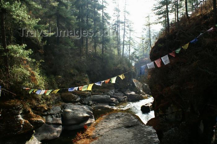 bhutan362: Bhutan - Membartsho, 'the burning lake' where Pema Lingpa, retrieved treasures hidden by Guru Rimpoche - photo by A.Ferrari - (c) Travel-Images.com - Stock Photography agency - Image Bank