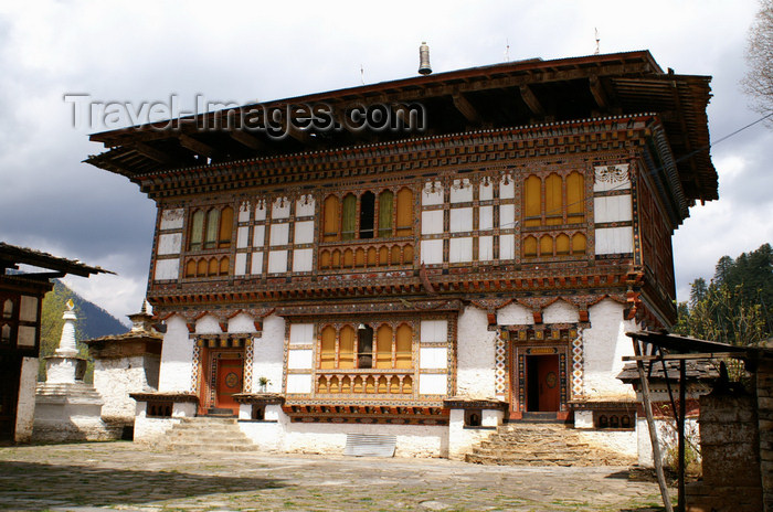 bhutan382: Bhutan - Ugyen Chholing palace - photo by A.Ferrari - (c) Travel-Images.com - Stock Photography agency - Image Bank