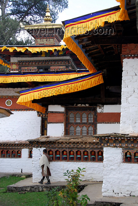 bhutan411: Bhutan, Paro, Kyichu Lhakhang - photo by J.Pemberton - (c) Travel-Images.com - Stock Photography agency - Image Bank
