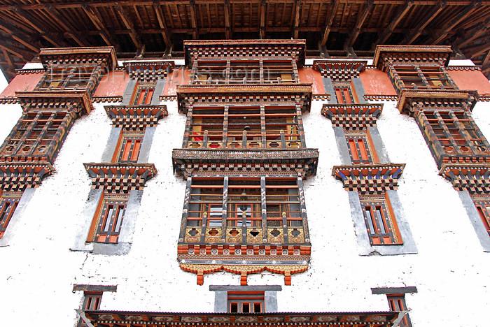 bhutan429: Bhutan, Thimphu, Trashi Chhoe Dzong - photo by J.Pemberton - (c) Travel-Images.com - Stock Photography agency - Image Bank
