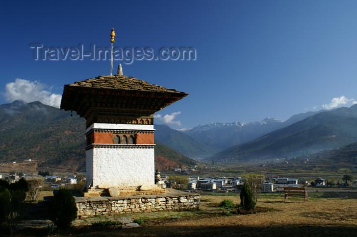 bhutan96: Bhutan - Paro: small chorten, outside the Gangtey palace - photo by A.Ferrari - (c) Travel-Images.com - Stock Photography agency - Image Bank