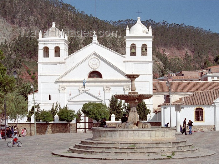 bolivia30: Sucre, Oropeza Province, Chuquisaca Department, Bolivia: colonial church - La Recoleta - Franciscan monastery - photo by M.Bergsma - (c) Travel-Images.com - Stock Photography agency - Image Bank