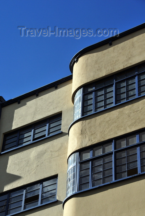 bolivia35: La Paz, Bolivia: Bauhaus architecture on Av. Eliodoro Camacho - photo by M.Torres - (c) Travel-Images.com - Stock Photography agency - Image Bank