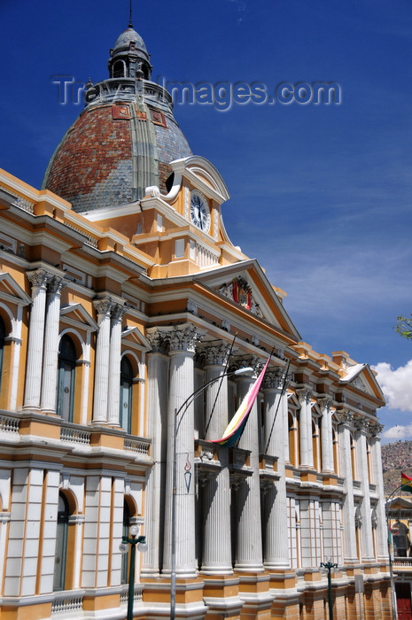 bolivia87: La Paz, Bolivia: Palacio Legislativo - Parliament building, once used by the University of La Paz - Plaza Murillo - photo by M.Torres - (c) Travel-Images.com - Stock Photography agency - Image Bank