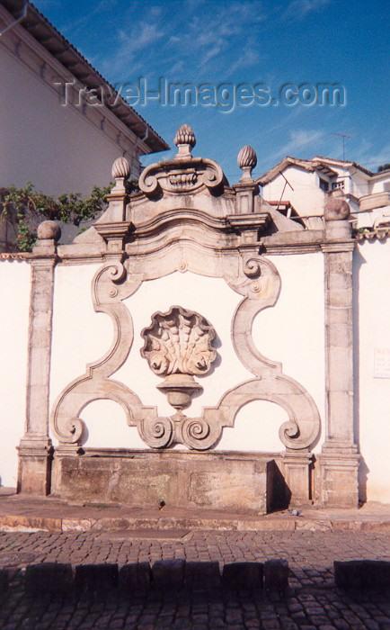 brazil104: Brazil / Brasil - Brasil - Minas Gerais - Ouro Preto: baroque fountain / fontanário barroco - photo by M.Torres - (c) Travel-Images.com - Stock Photography agency - Image Bank