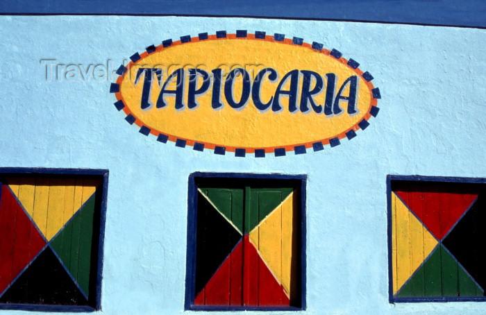 brazil124: Porto de Galinhas, Pernambuco, Brazil / Brasil: tapioca shop- tapioca is a Brazilian pankace made of cassava / Tapiocaria - tapioca é uma panqueca brasileira feita de mandioca - photo by F.Rigaud - (c) Travel-Images.com - Stock Photography agency - Image Bank