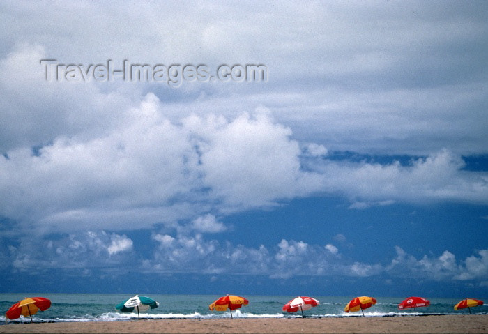 brazil126: Maceió, Alagoas, Brazil / Brasil: Sereia beach (mermaid) / Praia da Sereia / Praia Pratagy / Pratagi - photo by F.Rigaud - (c) Travel-Images.com - Stock Photography agency - Image Bank