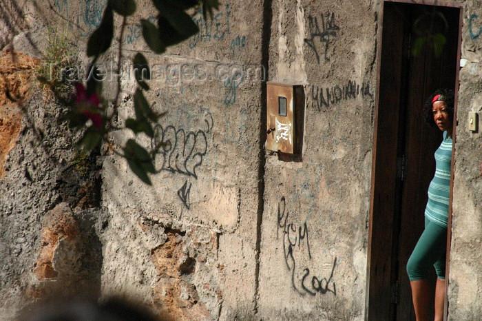 brazil149: Brazil / Brasil - Rio de Janeiro: Rocinha Favela - slum - as times goes by / olhando para o dia de ontem - photo by N.Cabana - (c) Travel-Images.com - Stock Photography agency - Image Bank