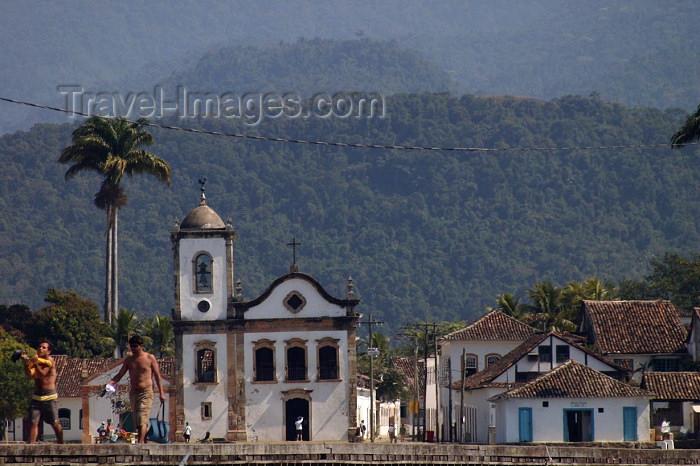 brazil156: Brazil / Brasil - Parati (RJ - micro-região da Baía da Ilha Grande): Santa Rita church / igreja de Santa Rita - photo by N.Cabana - (c) Travel-Images.com - Stock Photography agency - Image Bank