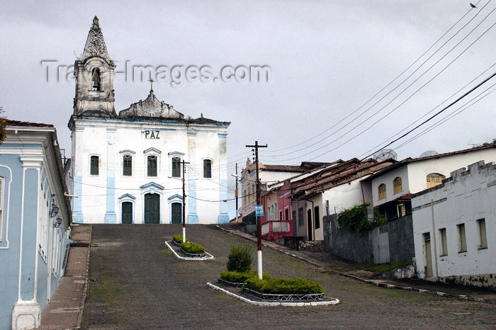 brazil168: Brazil / Brasil - Cachoeira (Bahia): church square / praça da igreja - photo by N.Cabana - (c) Travel-Images.com - Stock Photography agency - Image Bank