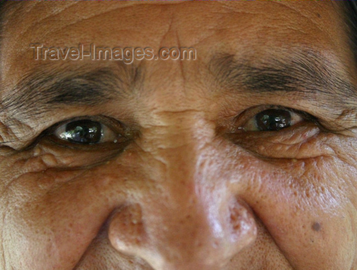 brazil173: Brazil / Brasil - rio Urubu / Urubu river: a grandmother's eyes / olhos de uma avó (photo by N.Cabana) - (c) Travel-Images.com - Stock Photography agency - Image Bank