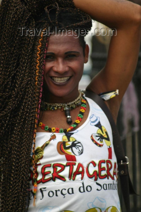 brazil180: Brazil / Brasil - Salvador (Bahia): transgender person / transexual - photo by N.Cabana - (c) Travel-Images.com - Stock Photography agency - Image Bank