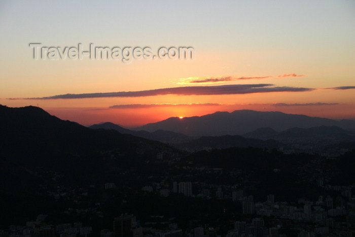brazil190: Brazil / Brasil - Rio de Janeiro: sunset - por do sol - photo by N.Cabana - (c) Travel-Images.com - Stock Photography agency - Image Bank