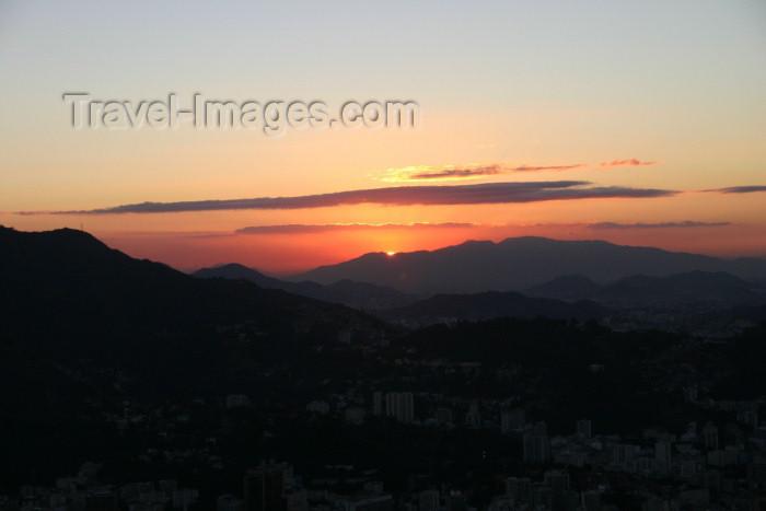 brazil190: Brazil / Brasil - Rio de Janeiro: sunset - por do sol - photo by N.Cabana - (c) Travel-Images.com - Stock Photography agency - Image Bank
