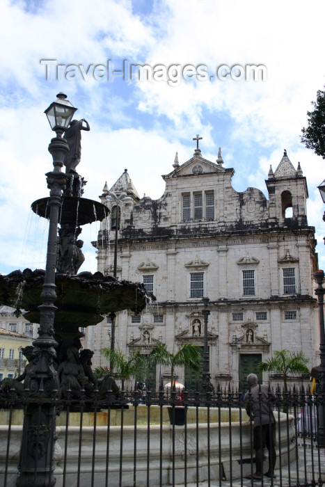 brazil205: Brazil / Brasil - Salvador (Bahia): Terreiro de Jesus - Catedral Basilica- Cathedral - Sé - photo by N.Cabana - (c) Travel-Images.com - Stock Photography agency - Image Bank