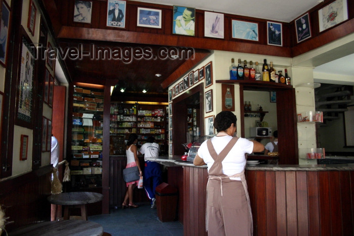 brazil214: Brazil / Brasil - Fortaleza (Ceará): Café La Habanera - photo by N.Cabana - (c) Travel-Images.com - Stock Photography agency - Image Bank