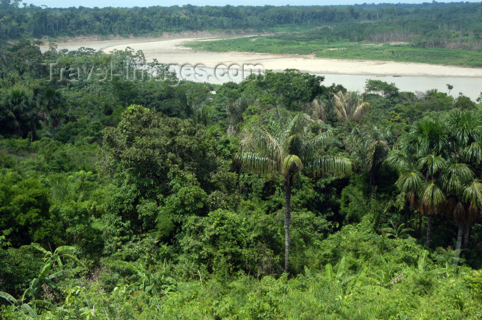 brazil235: Brazil / Brasil - Amazonas - Boca do Acre - Kamicuã village: river view / rio (photo by M.Alves) - (c) Travel-Images.com - Stock Photography agency - Image Bank