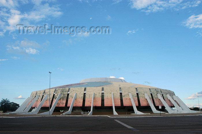brazil309: Brazil / Brasil - Brasilia: sports pavillion / ginásio Nilson Nelson (photo by  M.Alves) - (c) Travel-Images.com - Stock Photography agency - Image Bank