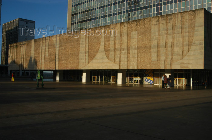 brazil310: Brazil / Brasil - Brasilia: central post office / correios (photo by  M.Alves) - (c) Travel-Images.com - Stock Photography agency - Image Bank