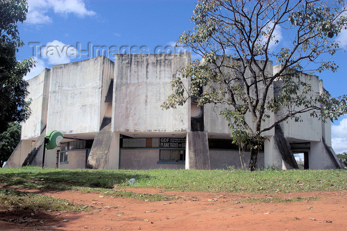 brazil312: Brazil / Brasil - Brasilia: Planetarium / planetário (photo by  M.Alves) - (c) Travel-Images.com - Stock Photography agency - Image Bank