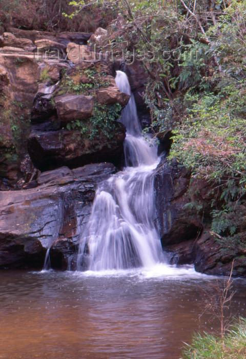 brazil385: Brazil / Brasil - São Thomé das Letras (MG): Eubiose falls / Cachoeira da Eubiose - photo by L.Moraes - (c) Travel-Images.com - Stock Photography agency - Image Bank