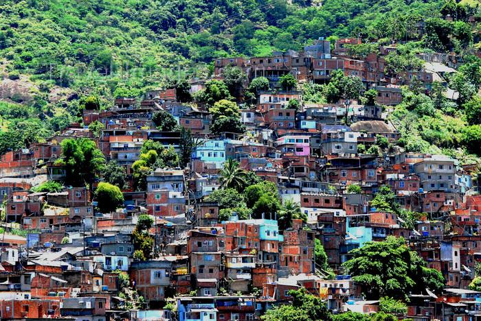 brazil415: Rio de Janeiro, Brazil: Turano favela | Favela do Turano - photo by L.Moraes - (c) Travel-Images.com - Stock Photography agency - Image Bank