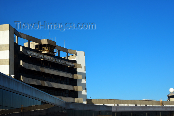 brazil418: São Paulo, Brazil: São Paulo / Guarulhos International Airport - aka GRU Airport and Governador André Franco Montoro International Airport - terminal building on a sunny day - photo by M.Torres - (c) Travel-Images.com - Stock Photography agency - Image Bank