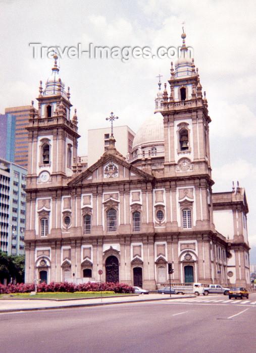 brazil46: Brazil / Brasil - Rio de Janeiro: Candelaria Church - igreja da Candelária, sem meninos da rua / Candelaria Church - centro velho - photo by M.Torres - (c) Travel-Images.com - Stock Photography agency - Image Bank
