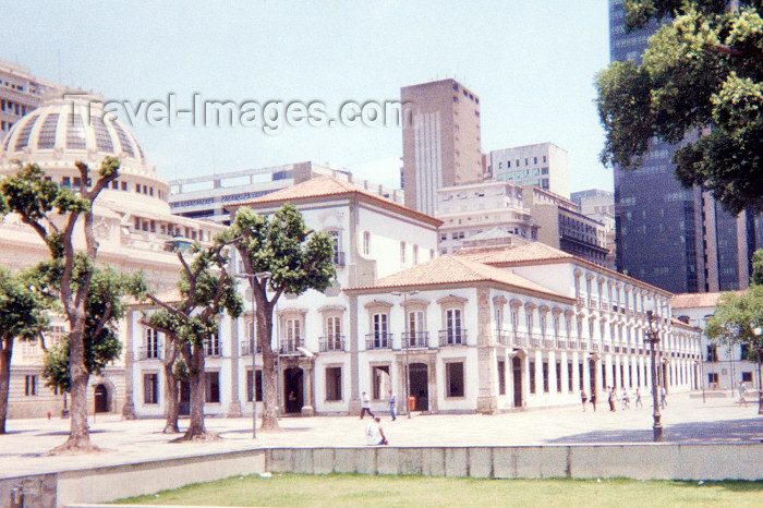 brazil51: Brazil / Brasil - Rio de Janeiro: the Regent's palace - palácio do Regente, o renegado principe D. Pedro de Bragança - Praça XV de Novembro / Regent's palace - November 15 square - photo by M.Torres - (c) Travel-Images.com - Stock Photography agency - Image Bank