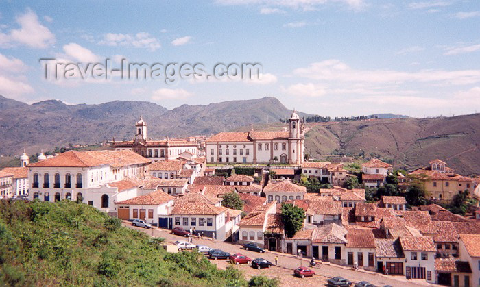 brazil52: Brazil / Brasil - Ouro Preto, ex Vila Rica de Albuquerque (Minas Gerais - UNESCO world heritage): Sra do Carmo church seen from Bairro Centro | igreja da Senhora do Carmo - photo by M.Torres - (c) Travel-Images.com - Stock Photography agency - Image Bank