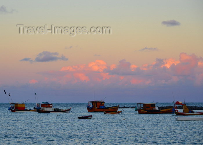 brazil68: Olinda, Pernambuco, Brazil: fishingboats at sunset - photo by M.Torres - (c) Travel-Images.com - Stock Photography agency - Image Bank