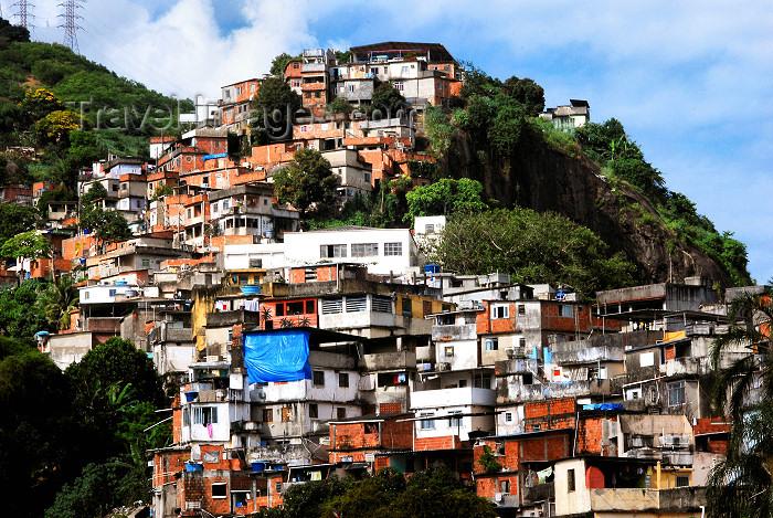 brazil78: Rio de Janeiro, Brazil: Matinha favela - shanty town | Favela do Matinha - photo by L.Moraes - (c) Travel-Images.com - Stock Photography agency - Image Bank