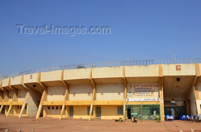 burkina-faso33: Ouagadougou, Burkina Faso: Municipal stadium / Stade Municipal -  home of Santos Football Club - photo by M.Torres - (c) Travel-Images.com - Stock Photography agency - Image Bank