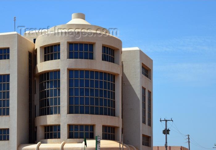 burkina-faso45: Ouagadougou, Burkina Faso: modern façade of the the e-government building, part of the Labour Ministry - Ministère de la Fonction Publique, du Travail et de de la Sécurité sociale - photo by M.Torres - (c) Travel-Images.com - Stock Photography agency - Image Bank