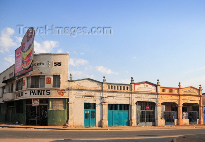 burundi35: Bujumbura, Burundi: colonial shop fronts - photo by M.Torres - (c) Travel-Images.com - Stock Photography agency - Image Bank