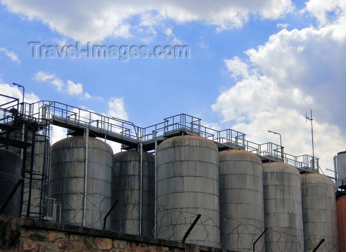 burundi50: Gitega / Kitega, Burundi: silos at the Primus brewery - RN2 - photo by M.Torres - (c) Travel-Images.com - Stock Photography agency - Image Bank