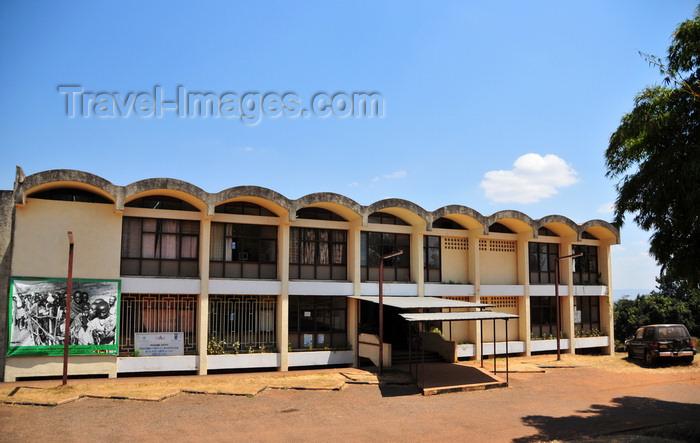 burundi66: Gitega / Kitega, Burundi: adminsitrative building in Burundi's old capital - UN AIDS programme offices - Musinzira hill - quartier administratif - photo by M.Torres - (c) Travel-Images.com - Stock Photography agency - Image Bank