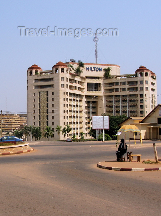 cameroon29: Yaoundé, Cameroon: Hilton hotel - photo by B.Cloutier - (c) Travel-Images.com - Stock Photography agency - Image Bank
