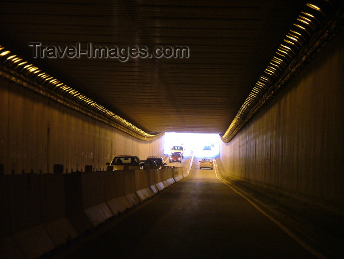 canada158: Welland, Ontario, Canada / Kanada: road tunnel - driver's view - photo by R.Grove - (c) Travel-Images.com - Stock Photography agency - Image Bank